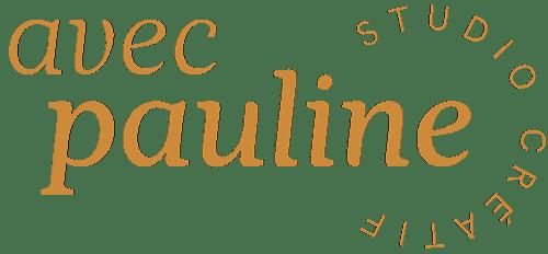 Avec Pauline Studio - Logo & Site Internet | Graphiste Normandie